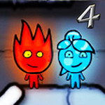Juego Fire Boy and Water Girl 4 The Crystal Temple