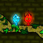 Fire Boy and Water Girl In The Forest Temple Hacked: Invincible
